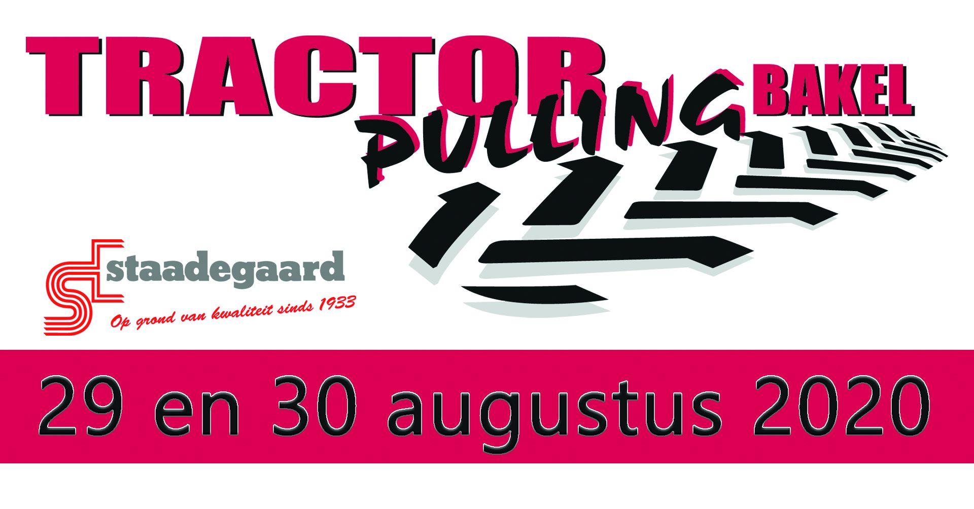 Tractorpulling Bakel 29 & 30 augustus 2020